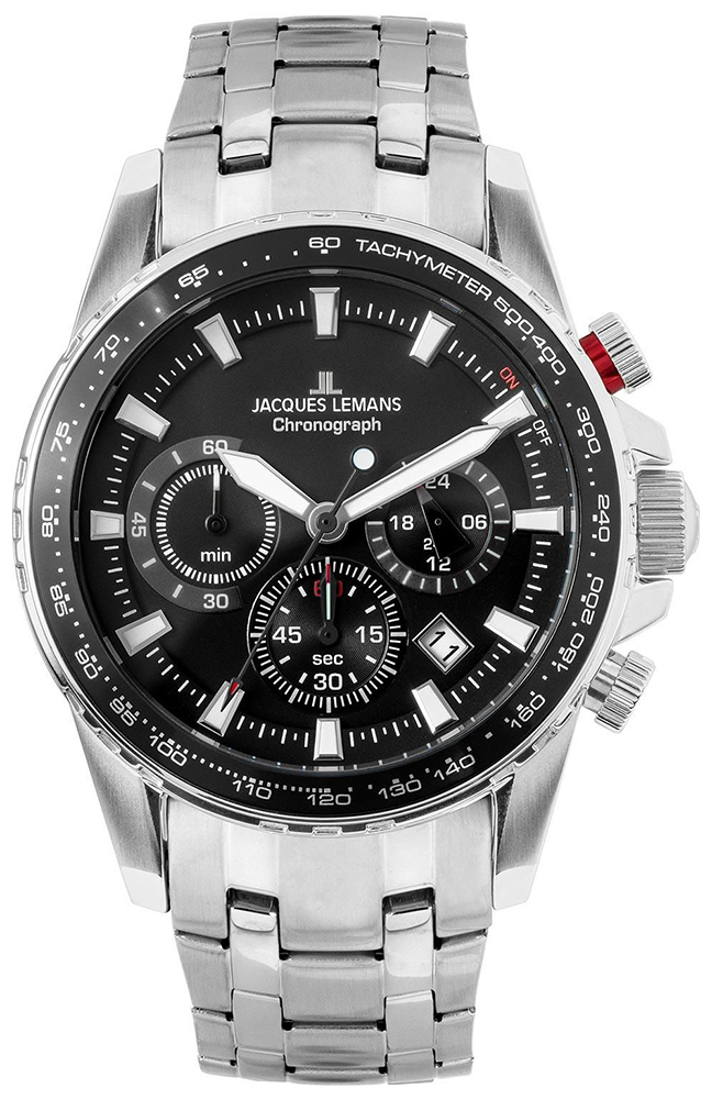 Jacques Lemans 1-2099D - zegarek męski