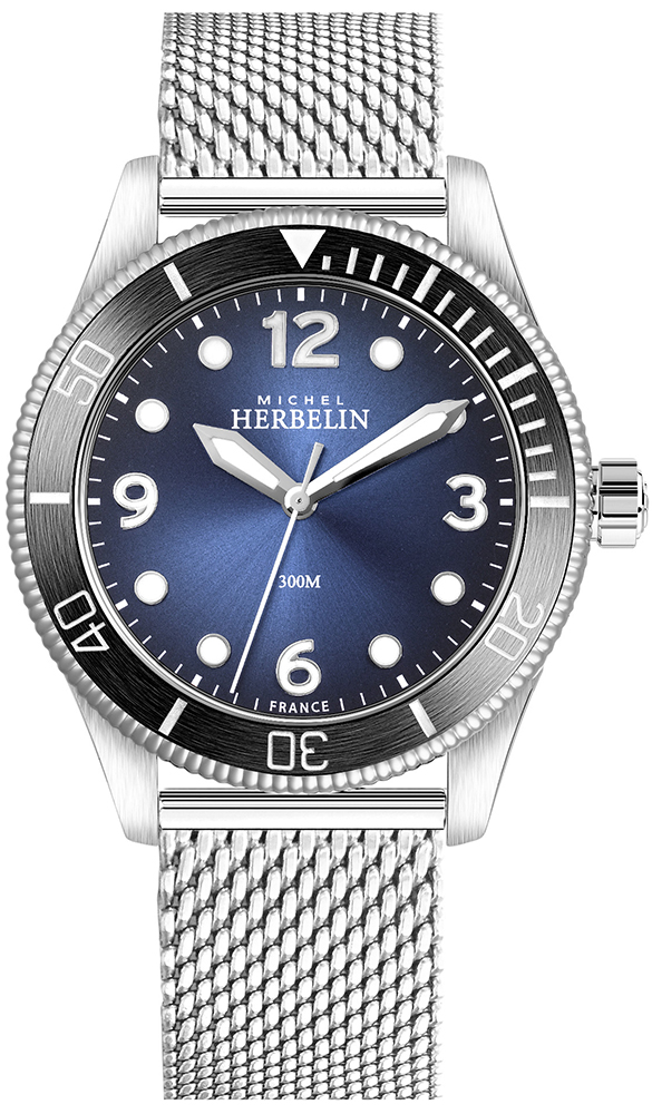 Michel Herbelin 12260/AN15B - zegarek męski