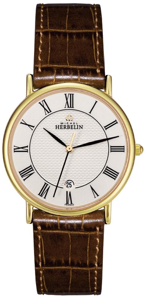 Michel Herbelin 12443/P08GO - zegarek damski