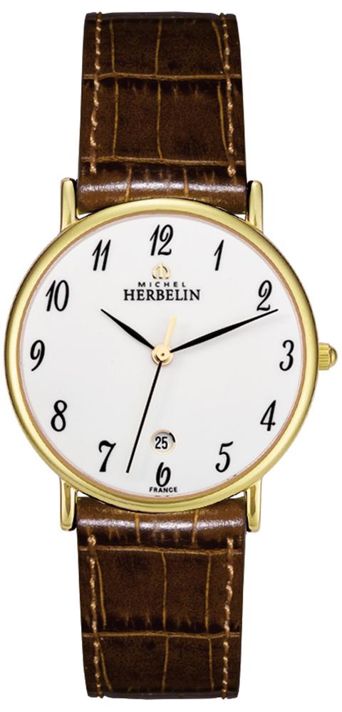 Michel Herbelin 12443/P28GO - zegarek damski