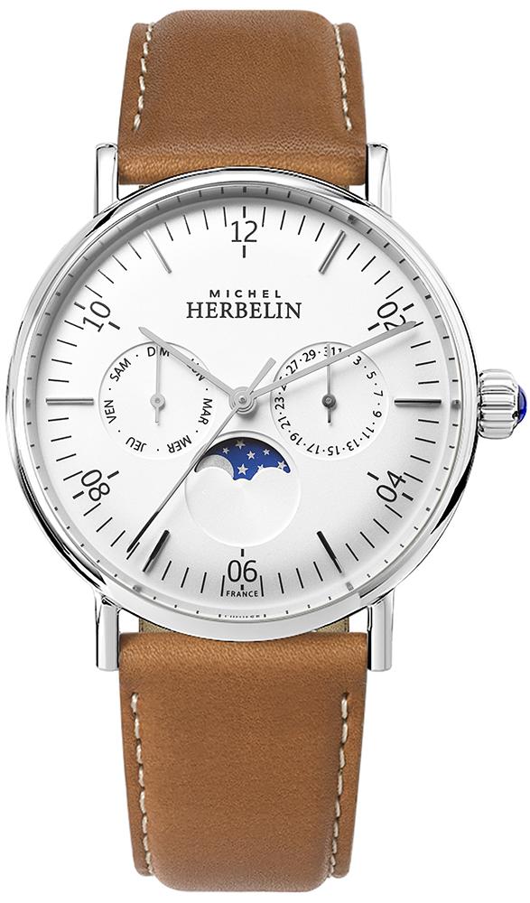 Michel Herbelin 12747/AP11GO - zegarek męski