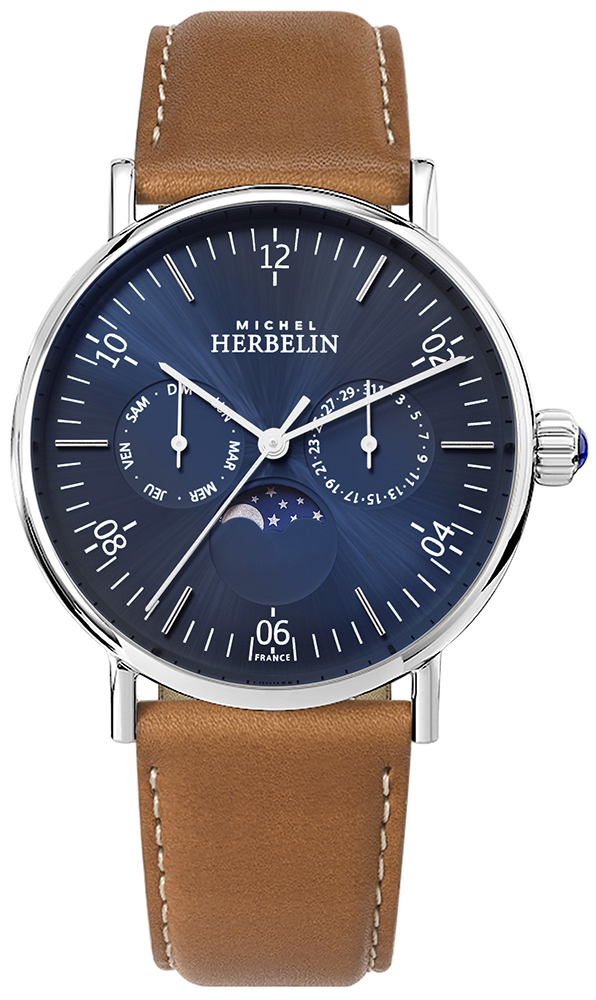 Michel Herbelin 12747/AP15GO - zegarek męski