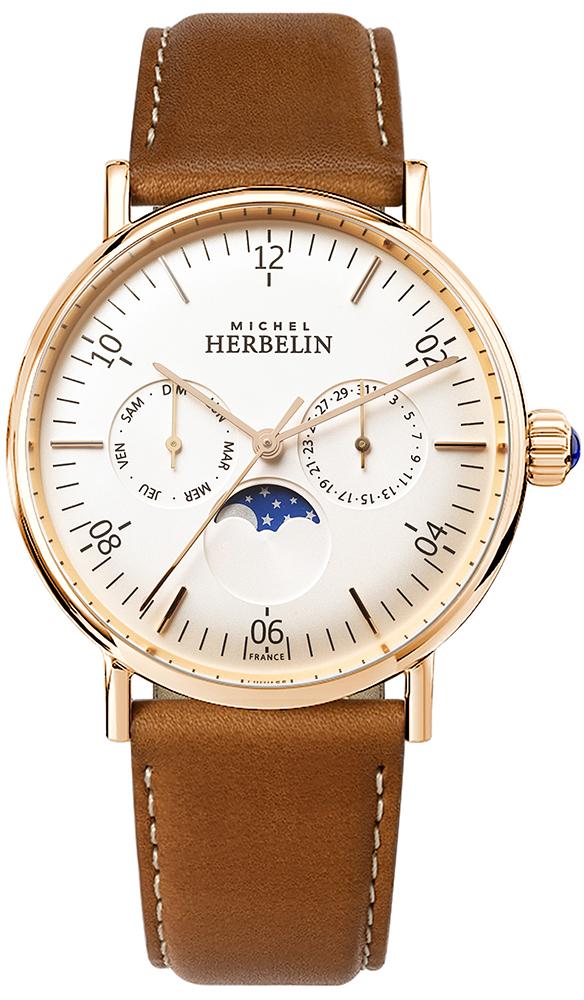 Michel Herbelin 12747/PR11GO - zegarek męski