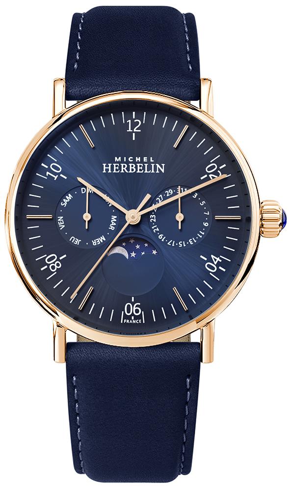Michel Herbelin 12747/PR15BL - zegarek męski
