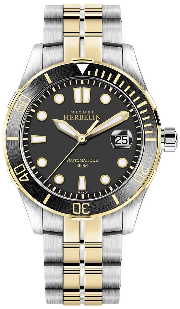 Michel Herbelin 1660/BTN14 - zegarek męski
