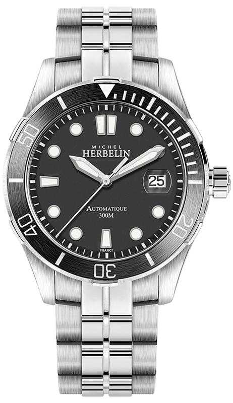 Michel Herbelin 1660/N14B - zegarek męski