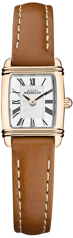 Michel Herbelin 17438/PR08GO - zegarek damski