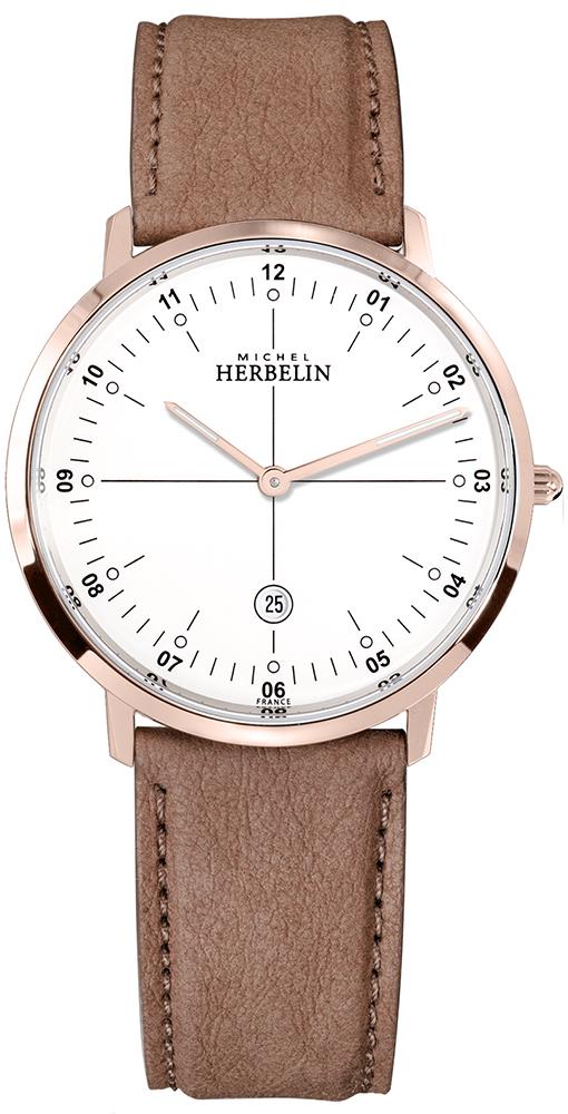 Michel Herbelin 19515/PR12OCR - zegarek męski