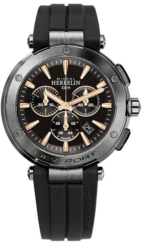 Michel Herbelin 37688/G33TCA - zegarek męski