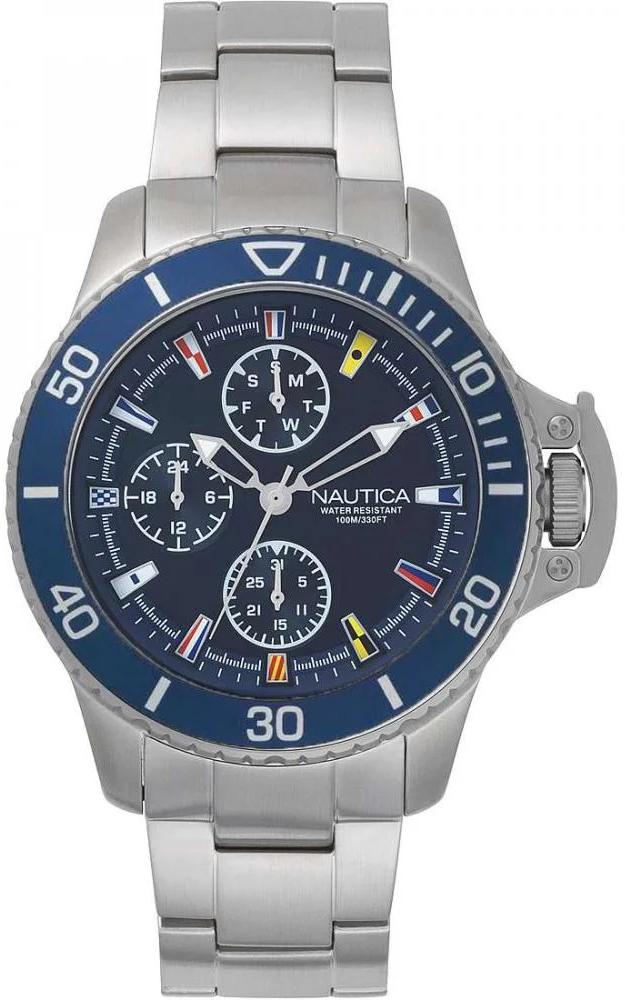 Nautica NAPBYS005 - zegarek męski