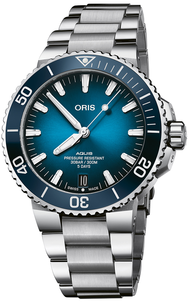 Oris 01 400 7763 4135-07 8 24 09PEB - zegarek męski