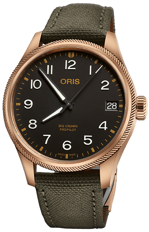 Oris 01 751 7761 3164-07 3 20 03BRLC - zegarek męski