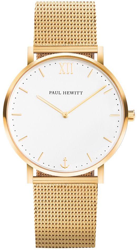 Paul Hewitt PH-SA-G-SM-W-4M - zegarek męski