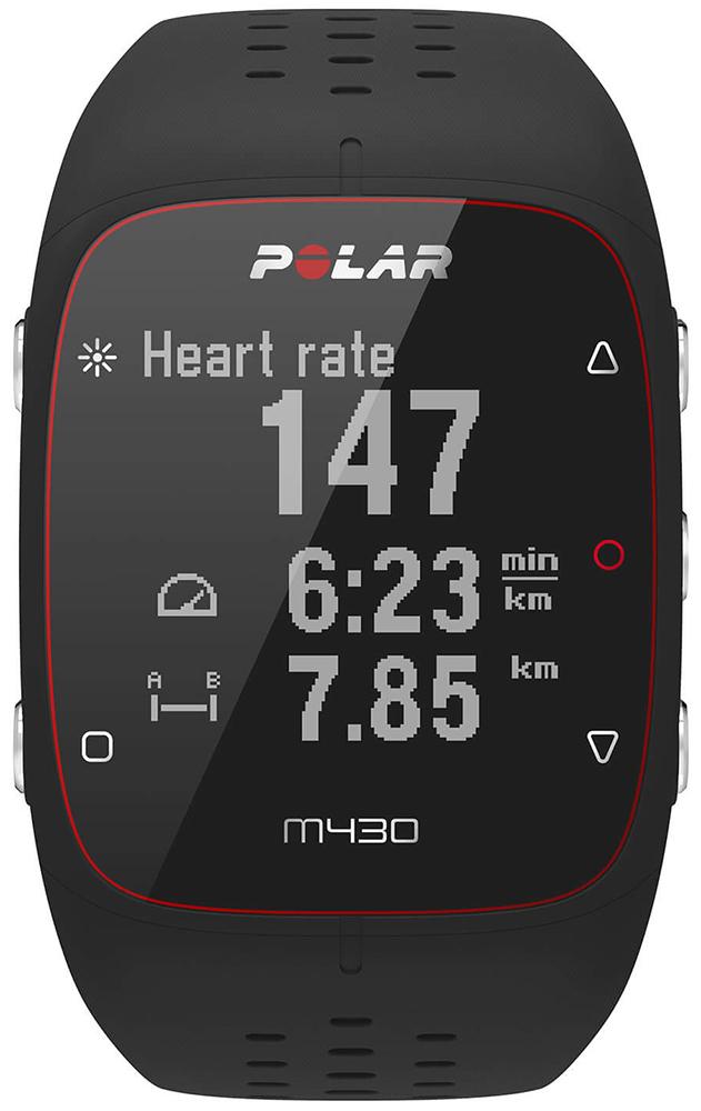 Polar M430 BLK S - zegarek unisex