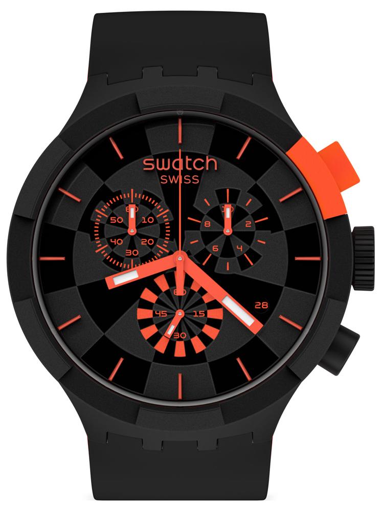 Swatch SB02B402 - zegarek męski