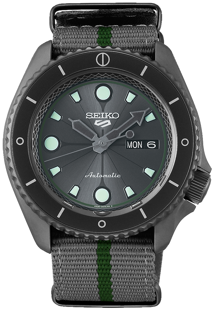 Seiko SRPF75K1 - zegarek męski