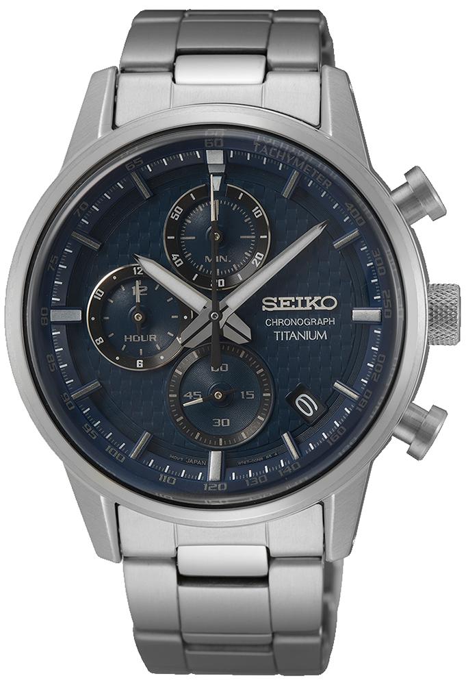 Seiko SSB387P1 - zegarek męski