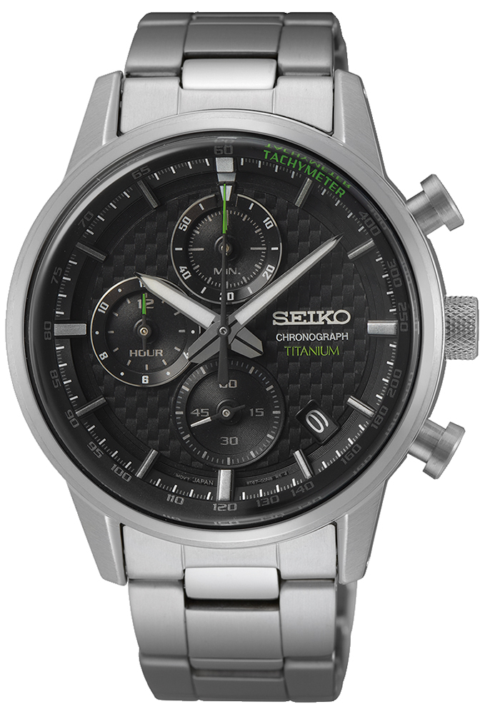 Seiko SSB389P1 - zegarek męski