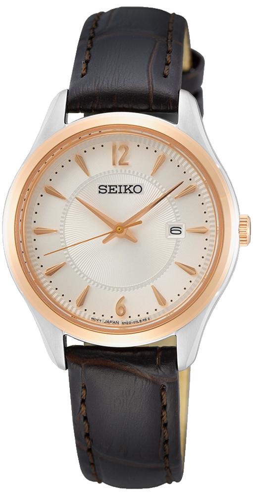 Seiko SUR428P1 - zegarek damski