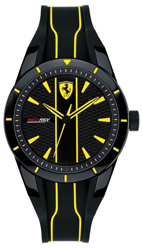 Scuderia Ferrari SF 0830480 RED REV - zegarek męski
