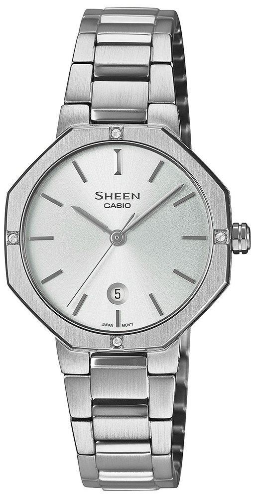 Casio Sheen SHE-4543D-7AUER - zegarek damski