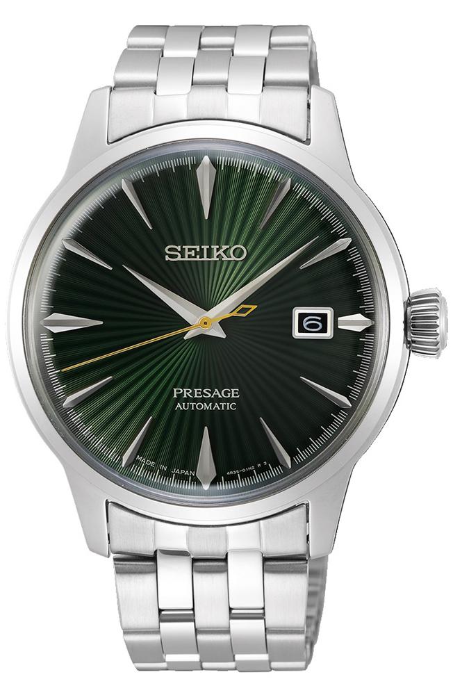 Seiko SRPE15J1 - zegarek męski