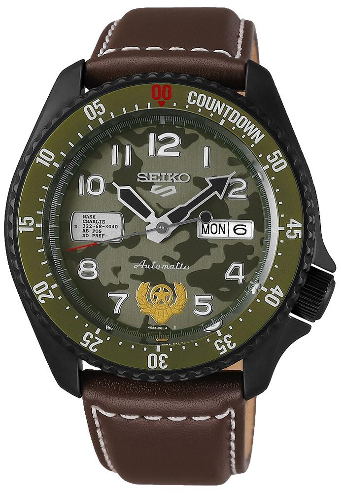 Seiko SRPF21K1 - zegarek męski