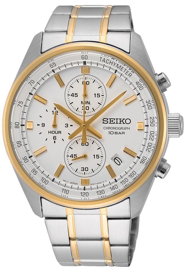 Seiko SSB380P1 - zegarek męski