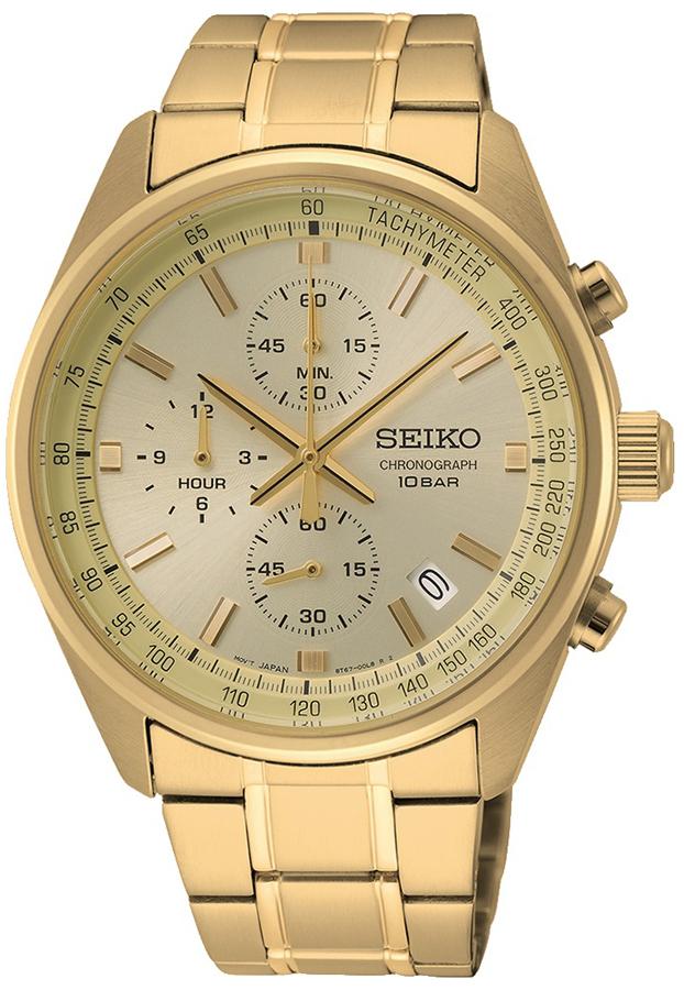 Seiko SSB382P1 - zegarek męski
