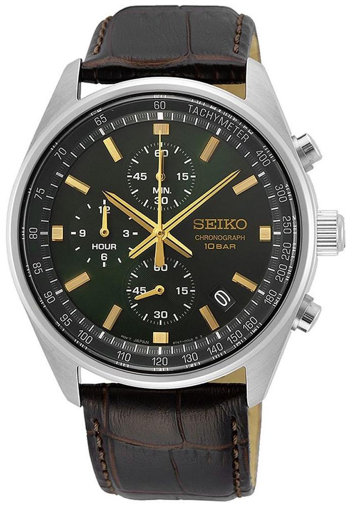 Seiko SSB385P1 - zegarek męski