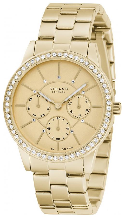 Strand S707LMGGSG - zegarek damski