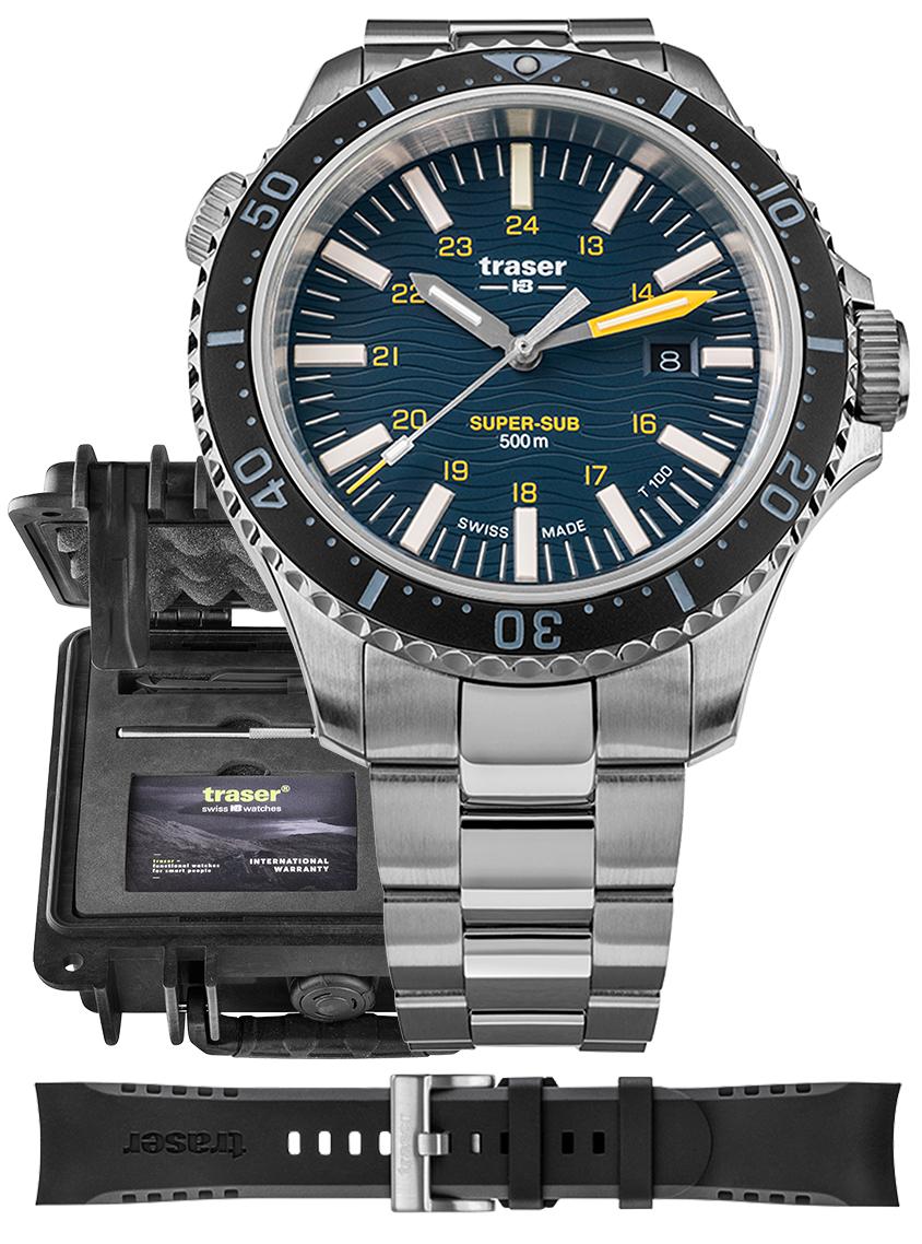 Traser TS-109370 - zegarek męski