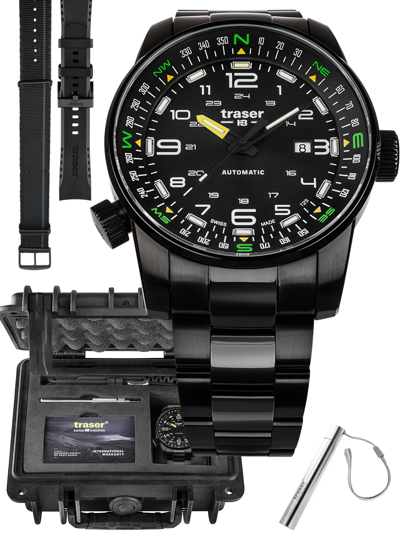 Traser TS-109522 MEGA SET - zegarek męski