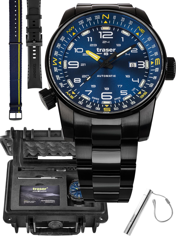 Traser TS-109523 MEGA SET - zegarek męski