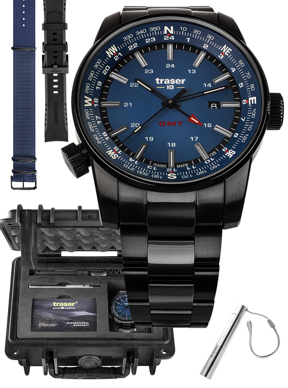 Traser TS-109524 MEGA SET - zegarek męski