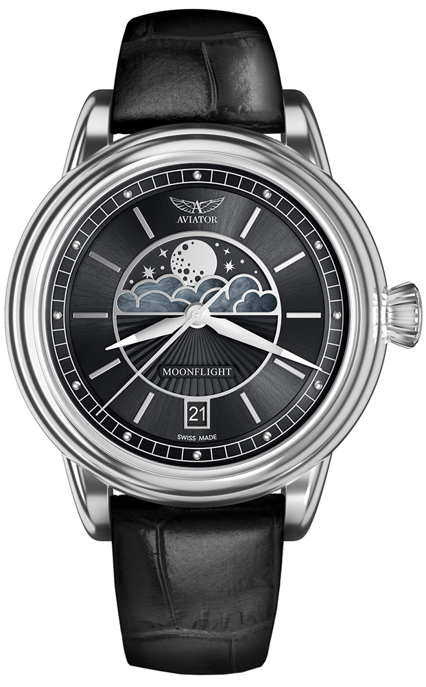 Aviator V.1.33.0.252.4 - zegarek damski