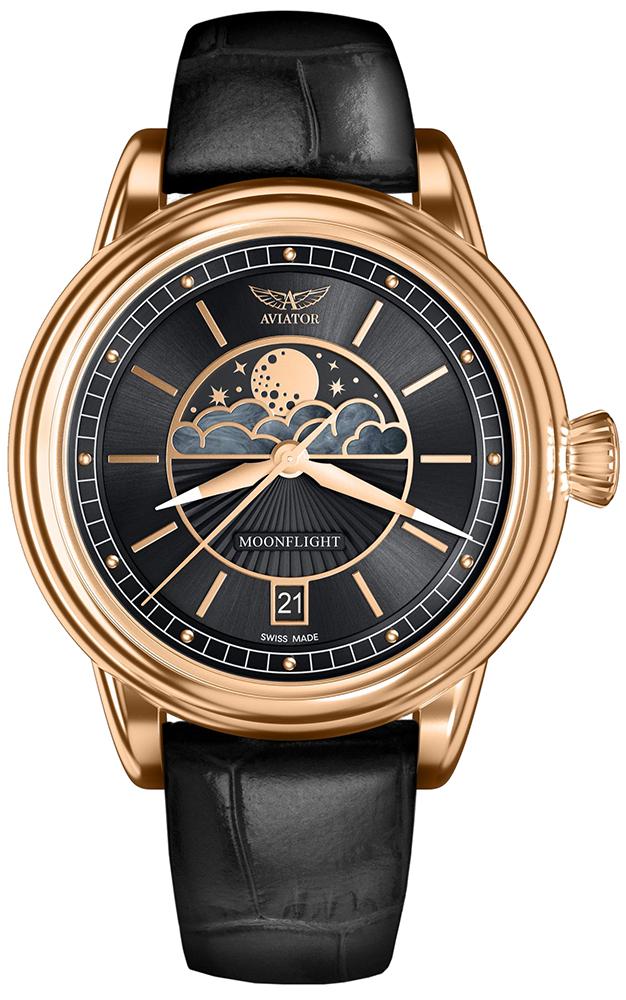 Aviator V.1.33.2.253.4 - zegarek damski