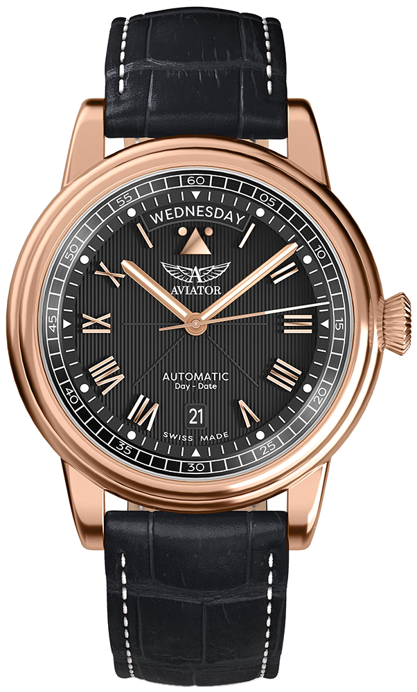 Aviator V.3.35.2.275.4 - zegarek męski