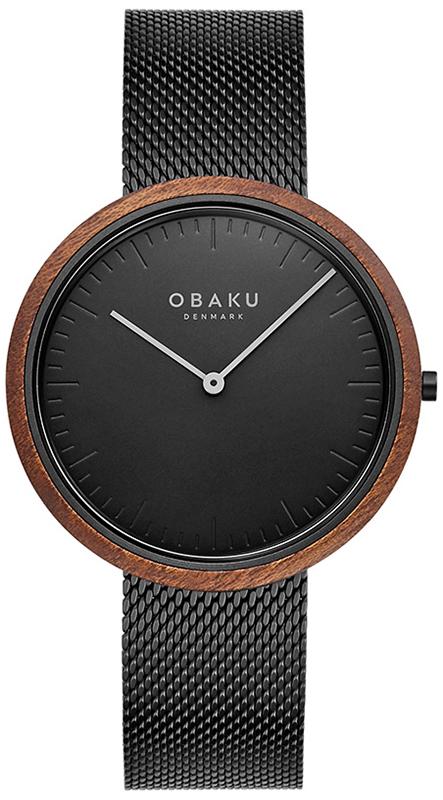 Obaku Denmark V245GXBBMB - zegarek męski