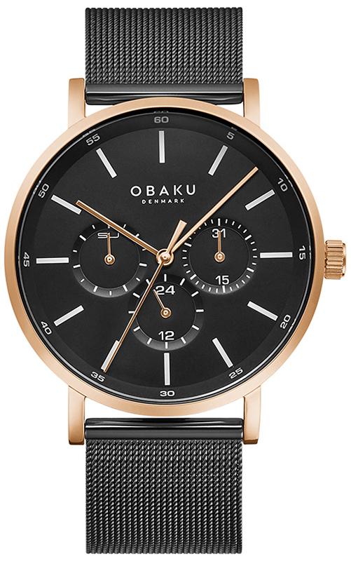 Obaku Denmark V246GMVBMB - zegarek męski