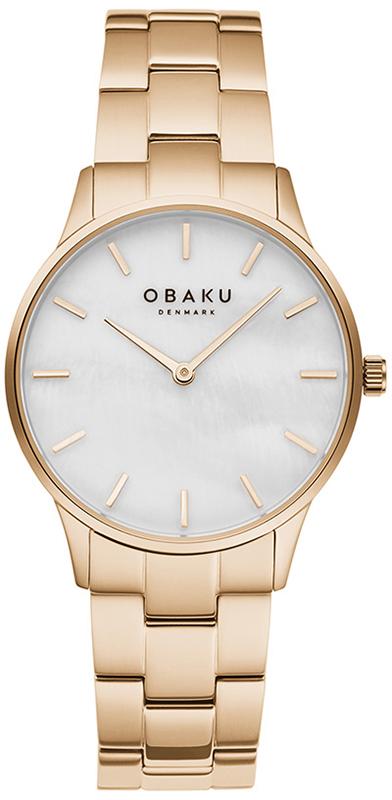 Obaku Denmark V247LXVWSV - zegarek damski
