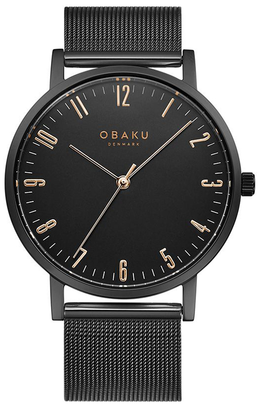 Obaku Denmark V248GXBBMB - zegarek męski