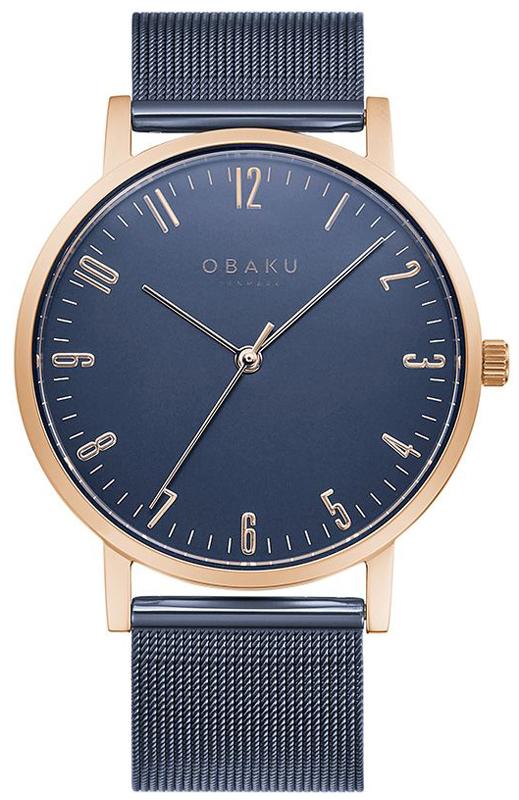 Obaku Denmark V248GXVLML - zegarek męski
