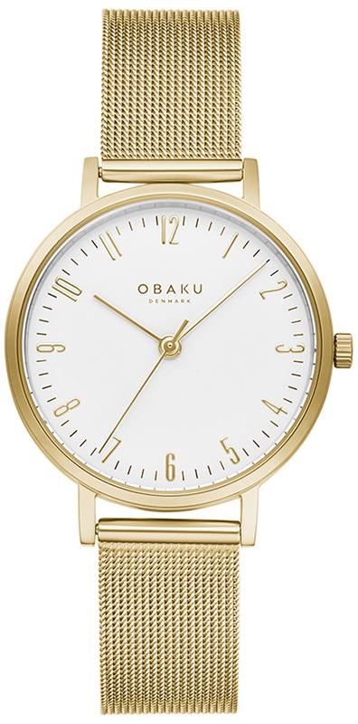 Obaku Denmark V248LXGIMG - zegarek damski