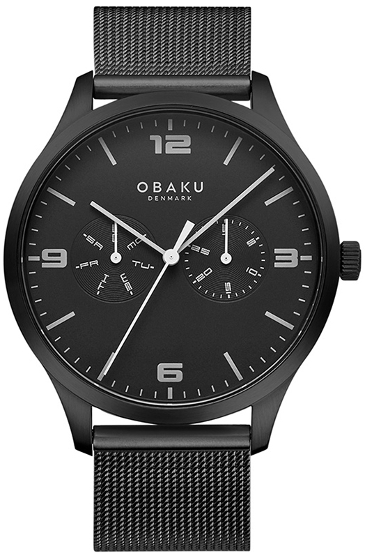 Obaku Denmark V249GMBBMB - zegarek męski