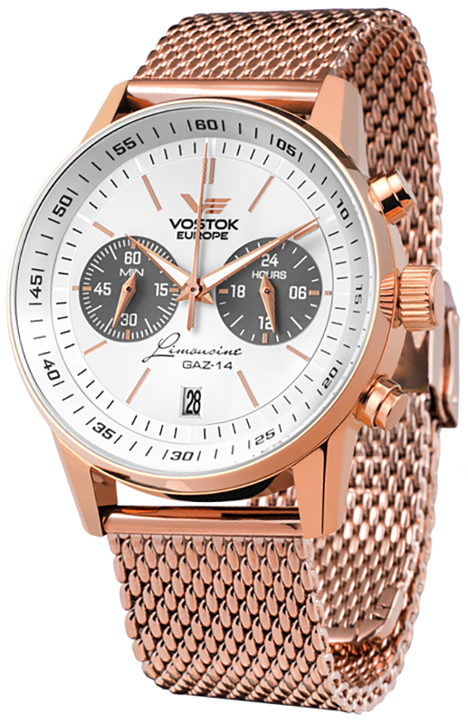 Vostok Europe VK64-560B600B - zegarek męski