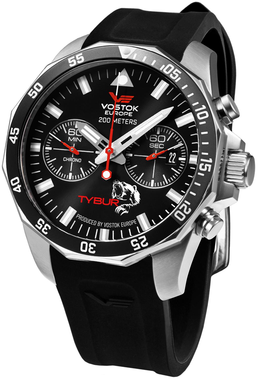 Vostok Europe 6S21-225A436 - zegarek męski