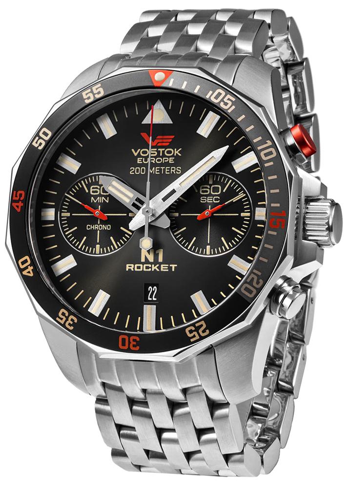 Vostok Europe 6S21-225A618B - zegarek męski