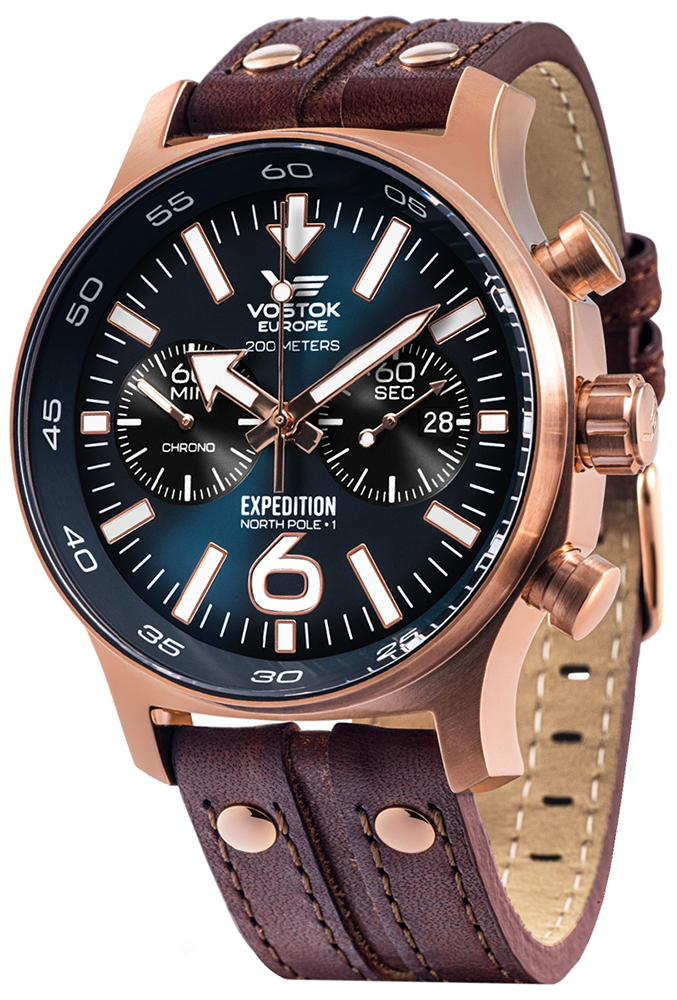 Vostok Europe 6S21-595B645 - zegarek męski