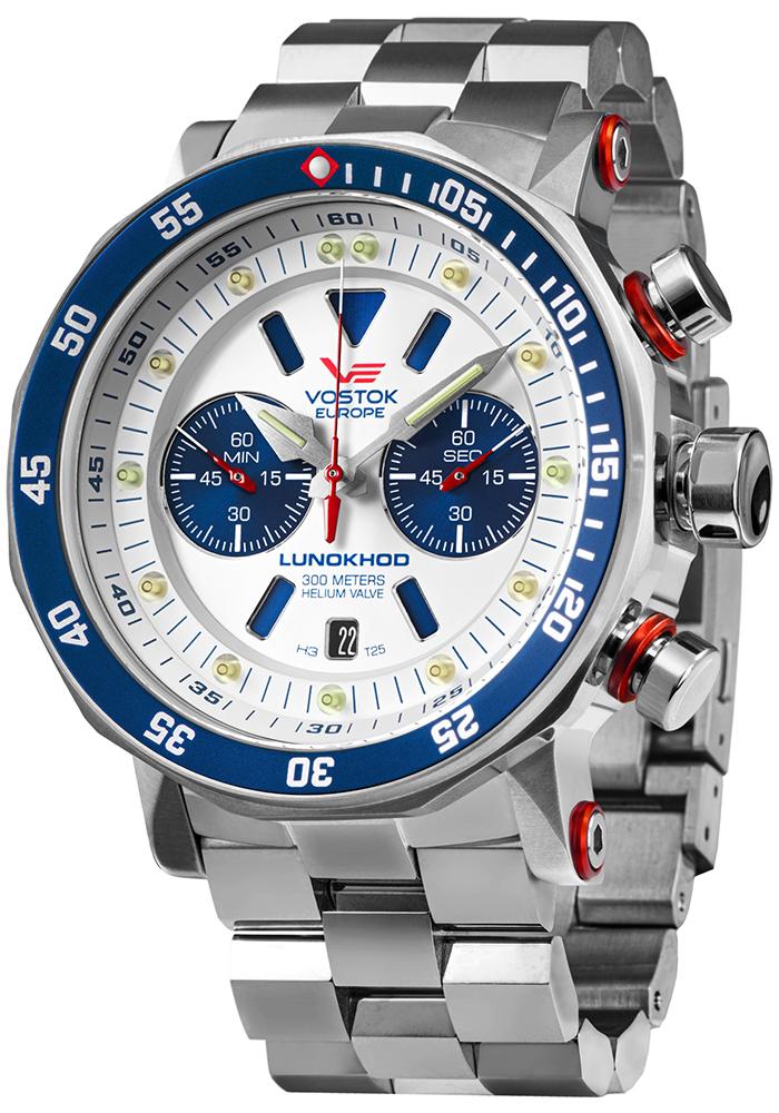 Vostok Europe 6S21-620A630B - zegarek męski